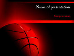 download free basketball powerpoint template for presentation