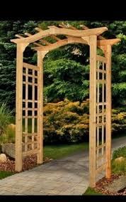 Garden Arch Plans by 19 Best Wooden Garden Arbor Images On Pinterest Garden Arbor