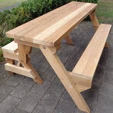 Wooden Bbq Table Plans Howtospecialist by 25 Unique Picnic Table Plans Ideas On Pinterest Picnic Tables