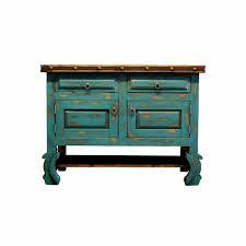 Turquoise Bathroom Vanity Buy Rustic Turquoise Bathroom Vanity