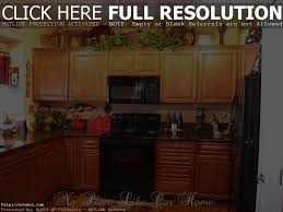primitive kitchen ideas cabinet kitchen decor above cabinets ideas for decorating above