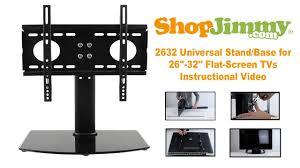 tv stands with flat panel mounts shopjimmy 2632 universal stand base for 26 u0027 u0027 32 u0027 u0027 flat screen tvs