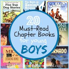 the unlikely homeschool 20 must read chapter books for boys