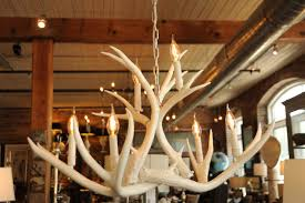 dining room appealing antler chandelier with wood ceiling and