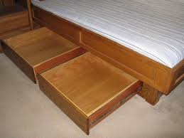 Bed Frame Plans With Drawers King Bed Frame Plans Drawers Best Design King Bed Frame Plans