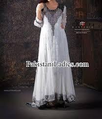 fancy white dress wedding umbrella frocks churidar