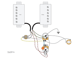 dual humbuckers with master vol tone and coil splits youtube