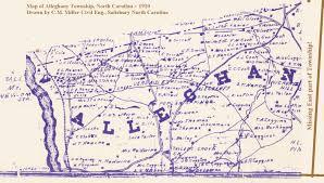 North Carolina Road Map Introduction Davidson Co Nc