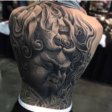 fat monster full back tattoo best tattoo ideas gallery
