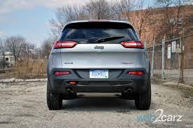 jeep cherokee back 2014 jeep cherokee trailhawk review web2carz