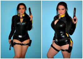 Tomb Raider Halloween Costume Diy Lara Croft Wetsuit Costume Halloween Costumes Blog