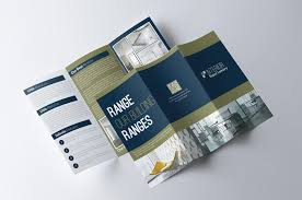 2 fold brochure template 70 modern corporate brochure templates design shack