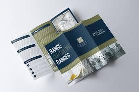 one sided brochure template 70 modern corporate brochure templates design shack
