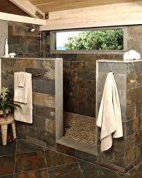 Showers Without Glass Doors Bathroom Bathroom Ceramic Showers Without Doors Ideas Glass