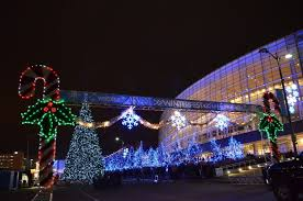 christmas lights in tulsa ok annual winterfest in downtown tulsa begins 52 day run kjrh com