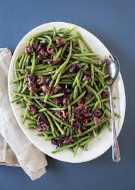 cuisine haricot vert roasted haricot verts with olive vinaigrette cafe johnsonia
