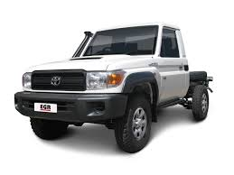 toyota land cruiser 70 toyota landcruiser 70 series ute flares fronts only egr auto