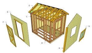 Diy 10x12 Shed Plans Free by Free Storage Shed Building Plans Shed Blueprints