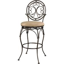 Patio Furniture For Big And Tall by Powell Furniture 586 847 Big And Tall Scroll Circle Back Barstool