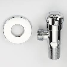 eckventil küche messing chrome platte poliert küche bad zubehör eckventil für wc