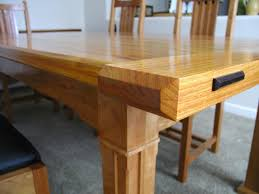 len u0027s arts and crafts dining table the wood whisperer