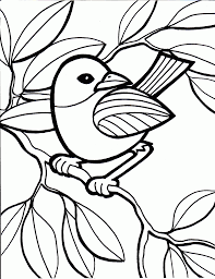 bird color pages kids coloring free kids coloring