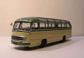 mercedes tour minichs scale 1 43 mercedes tour o321h 1957