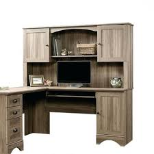 Sauder White Desk With Hutch Desk Sauder Harbor View Computer With Hutch Antiqued Paint