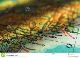 Us New York Map by New York Map Stock Image Image 34886511