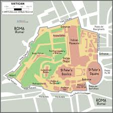 map of vatican city rome italy 205 baroque in italy and spain
