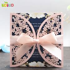 butterfly wedding invitations 50 sets laser cut butterfly wedding invitation material cards with