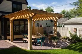 pergolas outdoor kitchens superior scape landscaping michigan
