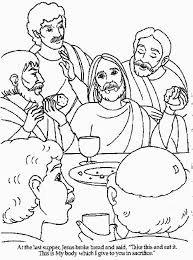 Last Supper Coloring Page Many Interesting Cliparts Last Supper Coloring Page