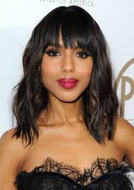 medium length wavy hairstyle cute medium hairstyles for black women 2017 cute medium hairstyles