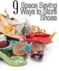11 space saving ways to organize your shoes my list of lists
