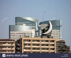 kyoto japan japanese town city modern architecture stock photo
