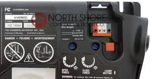 liftmaster jackshaft garage door opener ideas circuit board 41a5483 for liftmaster 2265 or 2565
