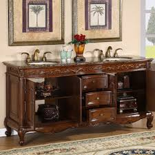 72 Vanity Cabinet Only Amazon Com Silkroad Exclusive Baltic Brown Granite Top Double