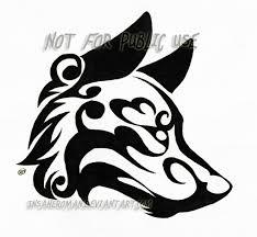wolf tribal design by insaneroman on deviantart