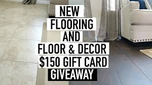 how to install wood flooring over tile floor u0026 decor giveaway