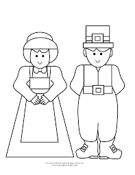 coloring page for thanksgiving thanksgiving pilgrims coloring pages getcoloringpages com