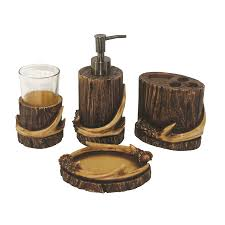 Lodge Bathroom Accessories by Bathroom Sets Bear Creek Country Decor Country Furniture