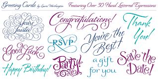 text birthday card greeting cards webfont desktop font myfonts