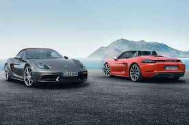 new porsche 2017 2017 porsche 718 boxster revealed with new turbo engines