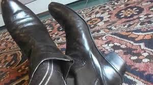 vintage brown giorgio brutini beatle boots office play avi youtube