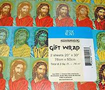 jesus wrapping paper the museum of idolatry may 2008