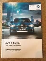 bmw denmark genuine bmw 1 series saloon owners handbook manual in
