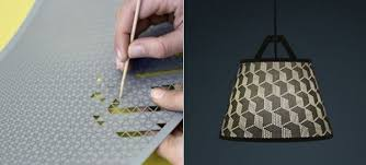 Diy Lamp Shade Punch Out Your Own Design On This Diy Lamp Shade Neatorama