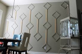 before u0026 after dining nook diamond wall design u2013 design sponge
