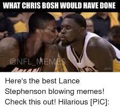 Lance Stephenson Meme - 25 best memes about lance stephenson blow lance stephenson